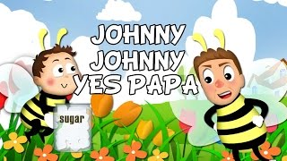 getlinkyoutube.com-Johny Johny Yes Papa lyrics song with lead Vocal   Nursery Rhymes   Ultra HD 4K Music Video Full