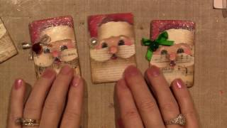 getlinkyoutube.com-Painted Santa Pin Tutorial