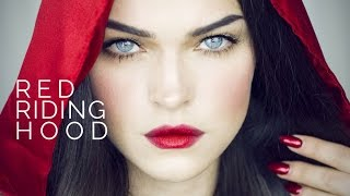 getlinkyoutube.com-Red Riding Hood I Make-up Look - Red ombre Lips