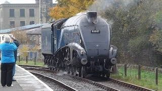 getlinkyoutube.com-Farewell Bash Behind 60007 Sir Nigel Gresley East Lancashire Railway 25/10/2014