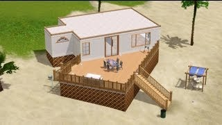 getlinkyoutube.com-The Sims 3 - Lets Build: Small Beach House