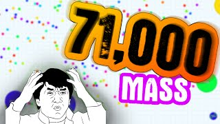 getlinkyoutube.com-Agar.io // 71,000 Mass Gameplay // Agario TYT Clan