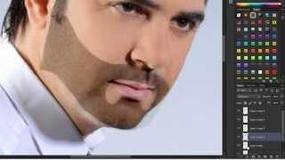 getlinkyoutube.com-درس احترافي لعمل شارب ولحية في الفوتوشوبLearn how to operate a beard and mustache in Photoshop