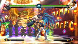 The King of Fighters XIII: Mr. KARATE Console Combo Showcase view on youtube.com tube online.
