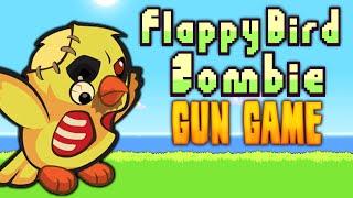 getlinkyoutube.com-FLAPPY BIRD: ZOMBIE GUN GAME ★ Call of Duty Zombies Mod