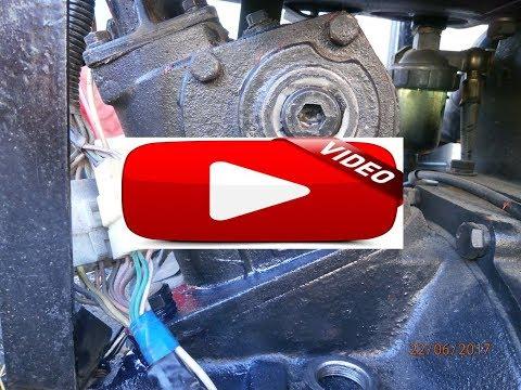 Регулировка рулевой колонки мини трактора