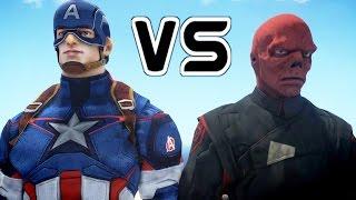 getlinkyoutube.com-Captain America Vs The Red Skull - EPIC BATTLE