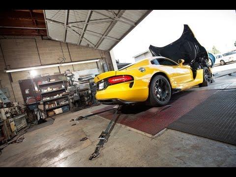 Dyno: 2013 SRT Viper GTS -- Edmunds.com