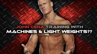 getlinkyoutube.com-John Cena Workout - Machines and Light Weights?!?