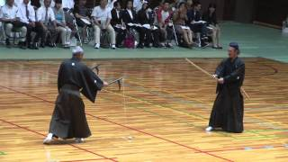 getlinkyoutube.com-Nito Shinkage Ryu Kusarigama Jutsu 二刀神影流鎖鎌術