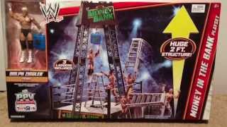getlinkyoutube.com-WWE ACTION INSIDER: Money In the Bank Playset ToysRus exclusive w/ Dolph Ziggler wrestling figure