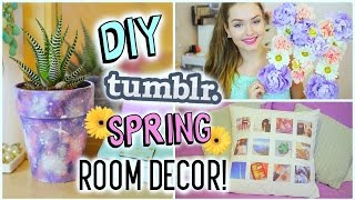 getlinkyoutube.com-DIY Tumblr Spring Room Decor | Cheap & Easy!