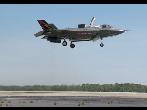 F-35B Vertical Take Off