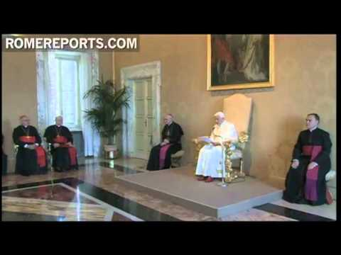Benedict XVI asks new bishops to be example of trust in God