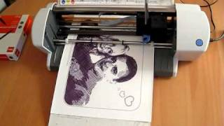"""getlinkyoutube.com-""""Plotted Love"""" - Desktop Plotter Art"""