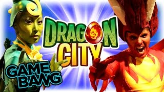 REAL LIFE DRAGON CITY BATTLE (Game Bang)