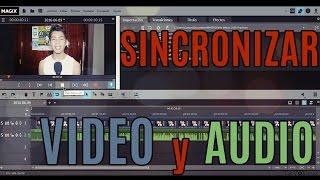 getlinkyoutube.com-Como sincronizar el audio con el video (Ejemplo en Magix Video Deluxe)