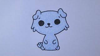 getlinkyoutube.com-Como desenhar um cachorrinho
