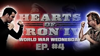 "getlinkyoutube.com-Hearts of Iron IV - ""World War Wednesday"" Part 4 - WAR!"