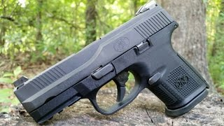 getlinkyoutube.com-FNS Compact 9mm...Concealed Carry, Military Style!