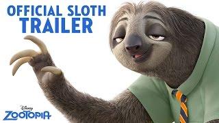 getlinkyoutube.com-Zootopia Official US Sloth Trailer