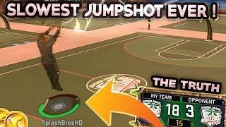 getlinkyoutube.com-SLOWEST JUMPSHOT EVER ! DROPPED OFF • CRAZY JUMPSHOT NBA 2K17 MyPark