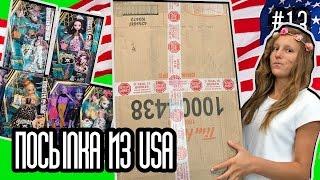 getlinkyoutube.com-Новые куклы Монстер Хай Эвер Афтер Хай 2016 посылка из Америки Monster High Ever After High новинки