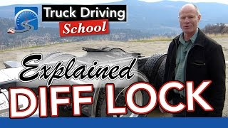 The Differential Lock Explained | Truck Driving School