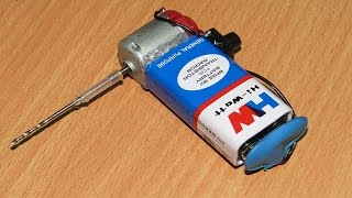 getlinkyoutube.com-How To Make Mini Drilling Machine | Simple Method At Home