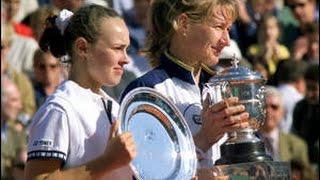 getlinkyoutube.com-Martina Hingis vs Steffi Graf 1999 RG Highlights