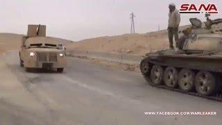 getlinkyoutube.com-Perang Suriah 2016 Tentara Suriah Bentrokan Berat  Dengan ISIS Selama pertempuran di Palmyra