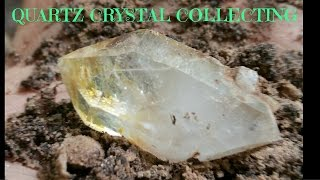 getlinkyoutube.com-Quartz Crystal Digging! Virginia 2015