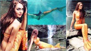 getlinkyoutube.com-How To Become A Mermaid | Water Proof/Sweat Proof Makeup | Jackie Wyers