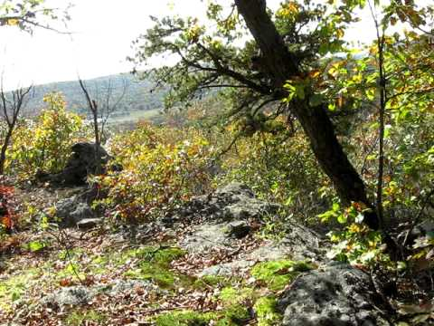 Land of the Lenape - Bedrock Ridge above Village Site