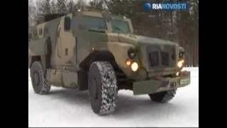 getlinkyoutube.com-Test-driving a new Russian armored vehicle