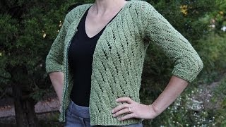 getlinkyoutube.com-How to knit a cardigan sweater. Knitting tutorial with detailed instructions.