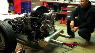 getlinkyoutube.com-2.2 type 4 vw engine with vintage speed exhaust