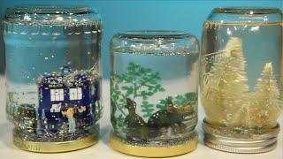 getlinkyoutube.com-Mason Jar Snow Globe DIY