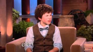 getlinkyoutube.com-Nolan Gould from 'Modern Family' is a Genius!.mp4