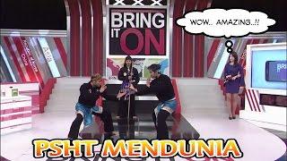 PSHT Mendunia!! SH Terate Di Undang Acara TV Korea width=