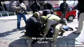 getlinkyoutube.com-CBŚ zatrzymanie groźnych gangsterów ze sląska Bartosz S. ps.Kobra