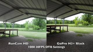 getlinkyoutube.com-RunCam HD Video Test Compared vs GoPro 3+ Black 1080 30FPS