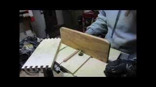 getlinkyoutube.com-Making a box joint jig for the router table.