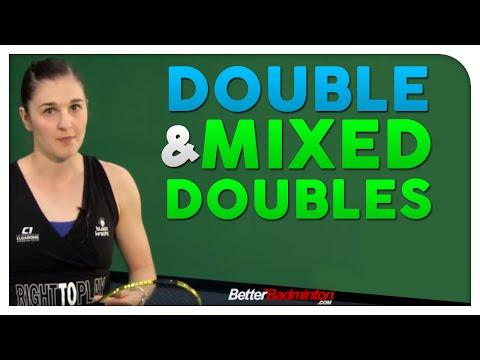 Badminton Footwork Lesson 05 - Doubles & Mixed Doubles