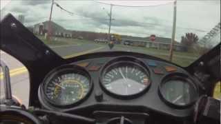 getlinkyoutube.com-Yamaha RZ350 Top Speed!