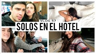 getlinkyoutube.com-SOLOS EN EL HOTEL | VLOG 57