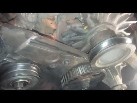Замена ремня ГРМ.Audi80 1,8л PM.как выставить валы по меткам.