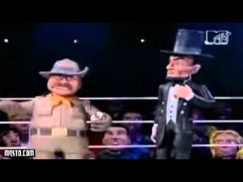 Celebrity Deathmatch George Washington vs Abraham Lincoln