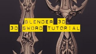 getlinkyoutube.com-Blender 3D Sword Tutorial