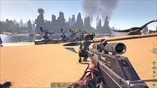 getlinkyoutube.com-Ark Survival Evolved: Testing Turrets Against Structures, Bad Math, and Needless Slaughter